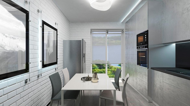 Пример ремонта квартиры в новостройке Днепра